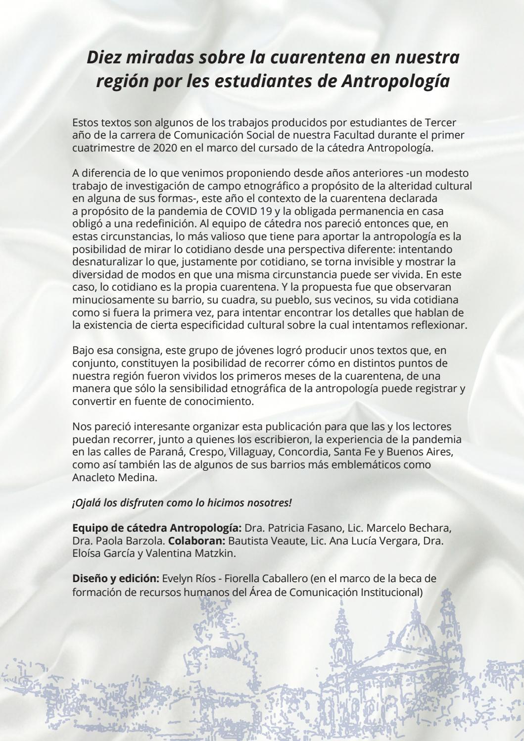 Etnografias De Cuarentena By Fcedu Uner Issuu
