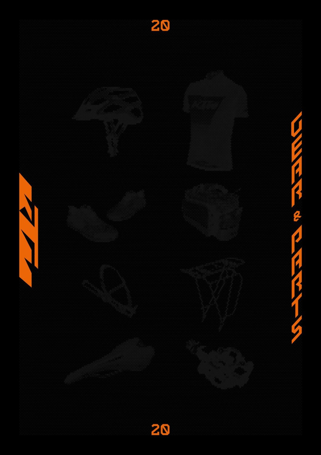 KTM GEAR AND PARTS CATALOGUE 2020