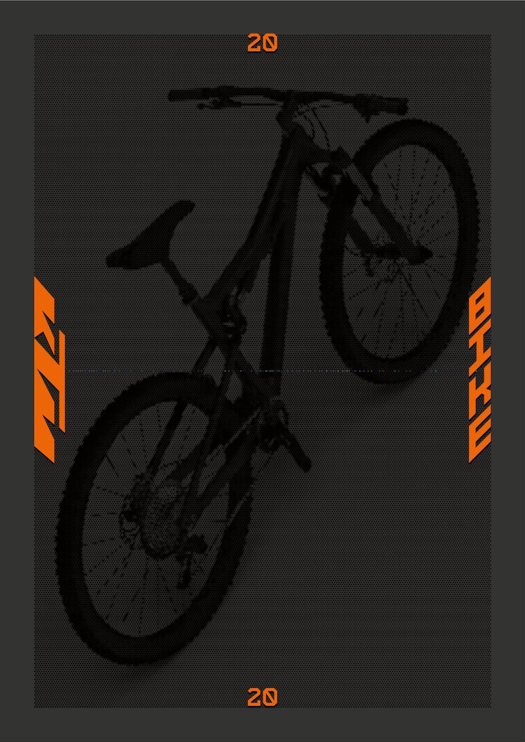 KTM IMAGE CATALOGUE BIKES 2020