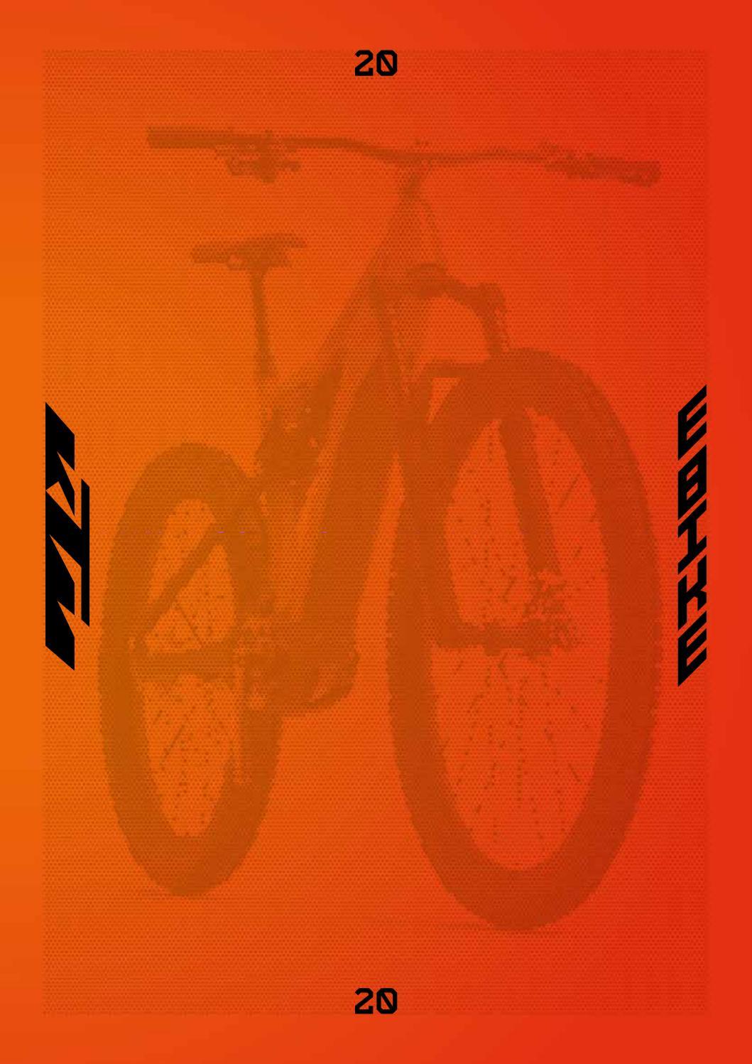 KTM E-BIKE CATALOGUE 2020