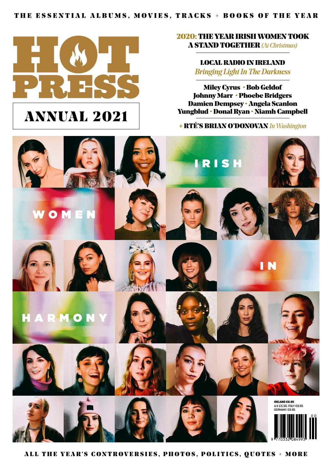 Hot Press Annual December 2020 by Hot Press Publishing - issuu