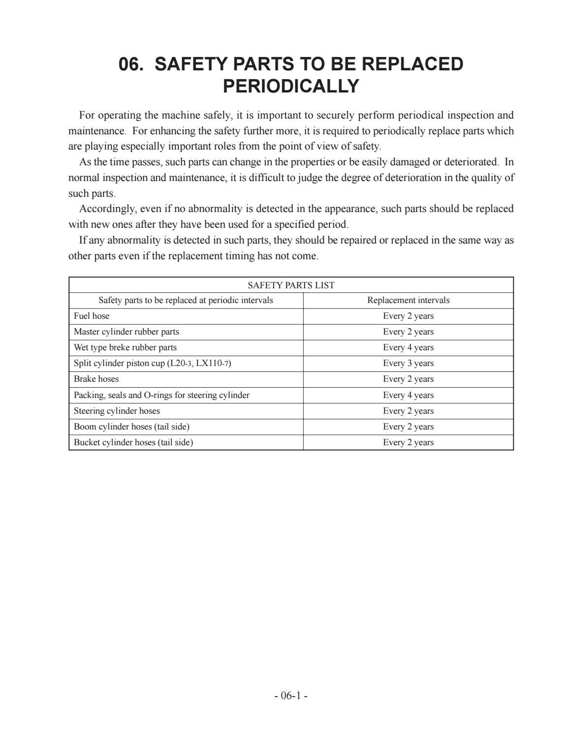 Hitachi LX110-7 LX130-7 LX160-7 LX190-7 LX230-7 Wheel Loader Workshop Manual - PDF DOWNLOAD page 25