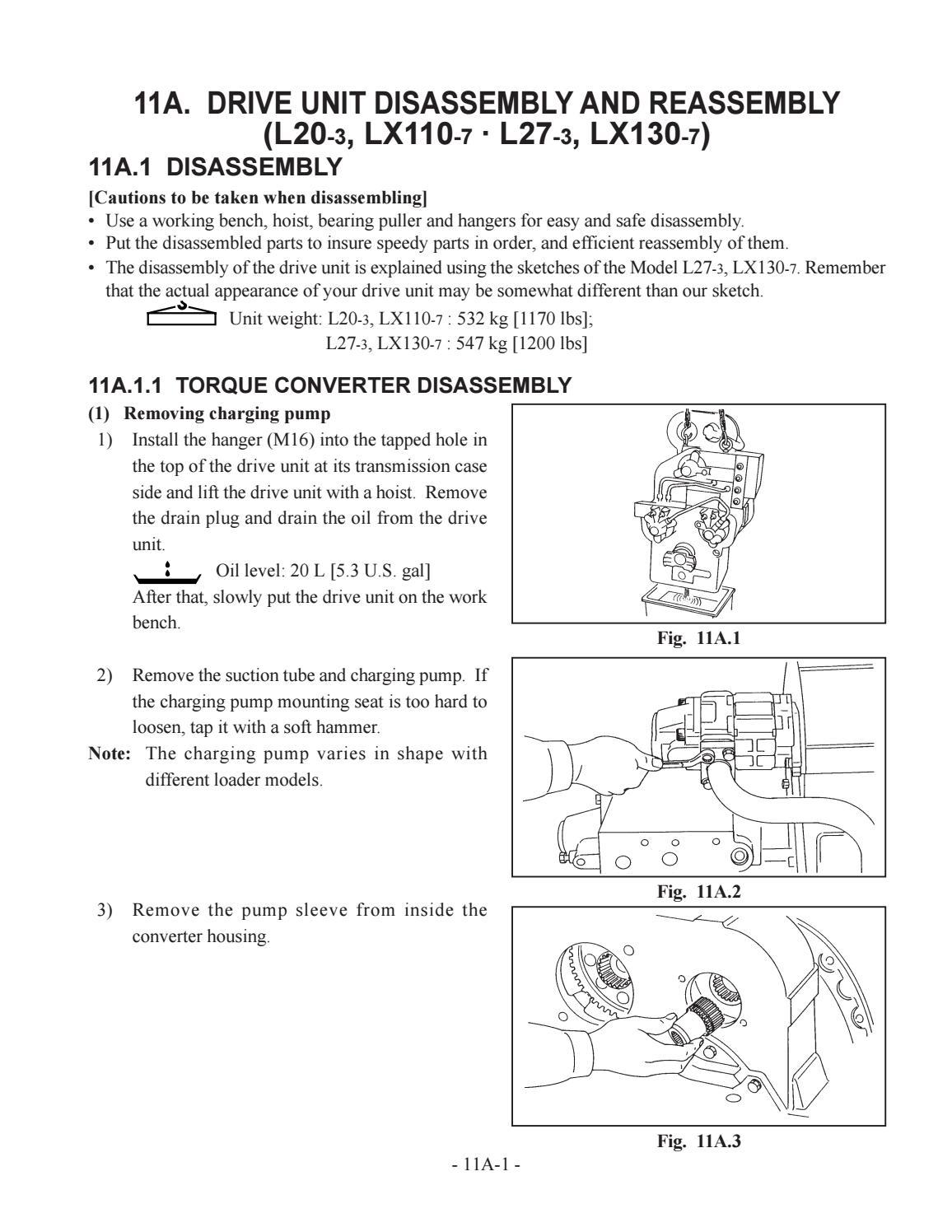 Hitachi LX110-7 LX130-7 LX160-7 LX190-7 LX230-7 Wheel Loader Workshop Manual - PDF DOWNLOAD page 29