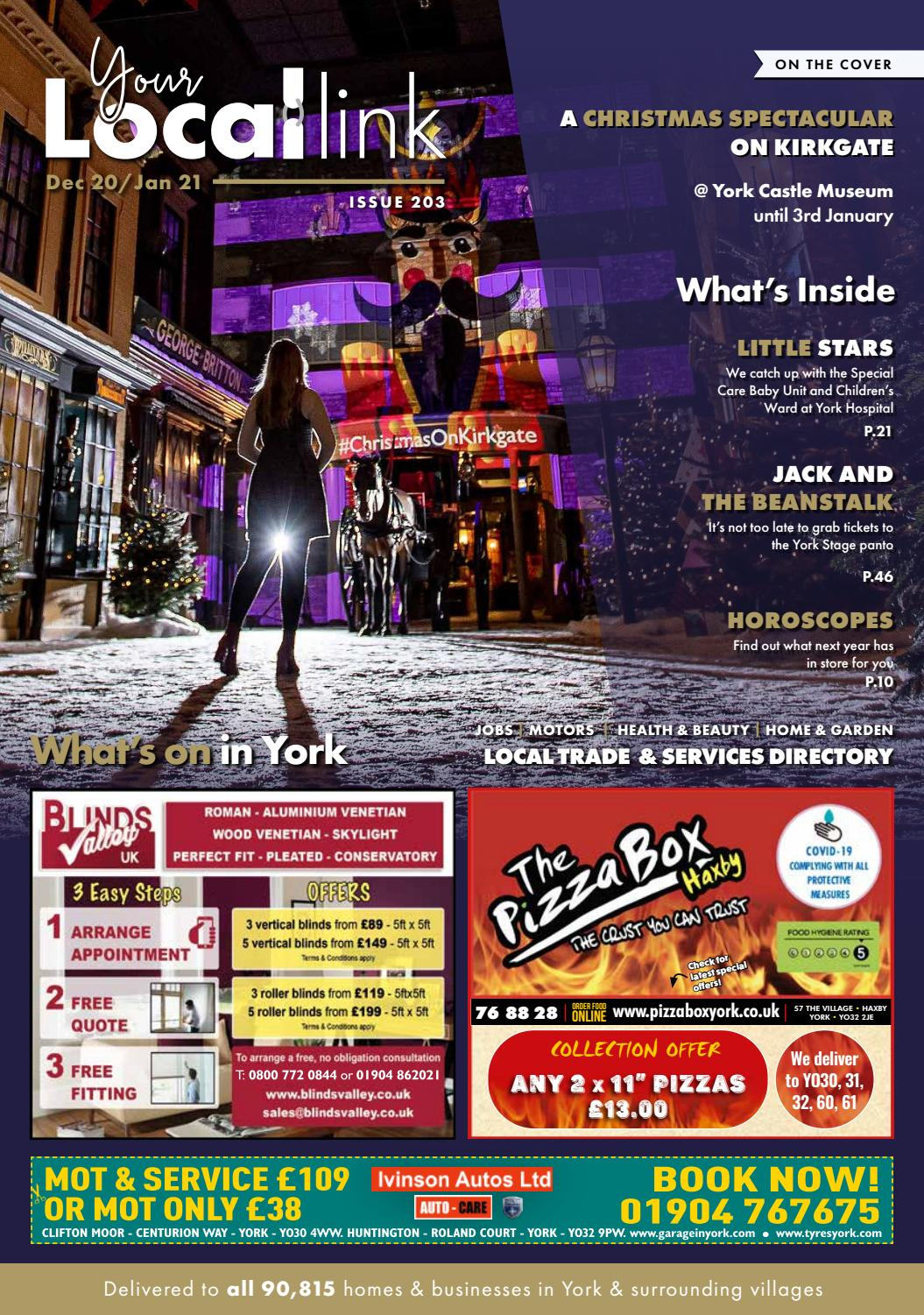 Your Local Link Dec Jan 2021 By Your Local Link Ltd Issuu