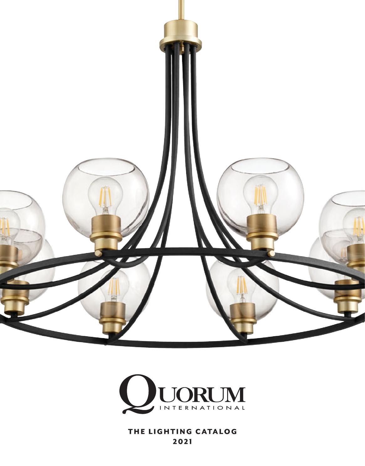 Quorum Lighting Catalog 2021 By Tfg Issuu