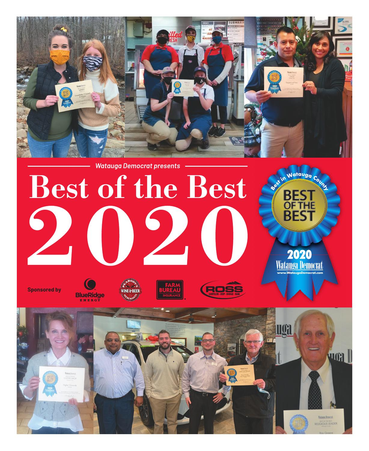 Christmas Trees 2021 Watauga Democrat Watauga County Best Of The Best 2020 By Mountain Times Publications Issuu