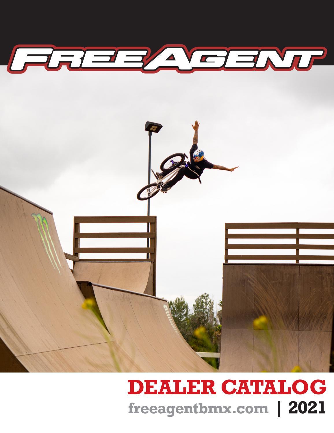 "2020 FREE AGENT Metus BMX STREET Jumper BIKE Black 26/"" Wheels"