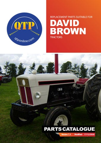 For David Brown 990 Implematic Decal Kit