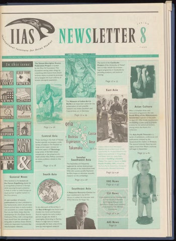 Iias Newsletter 8 By International Institute For Asian Studies Issuu