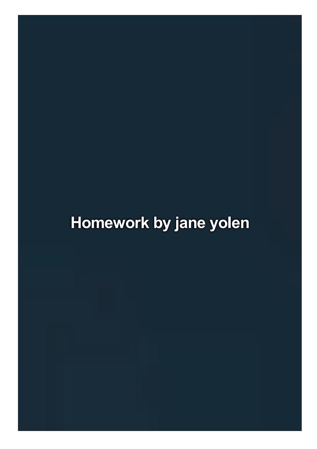 Homework jane yolen ford foundation fellowship dissertation
