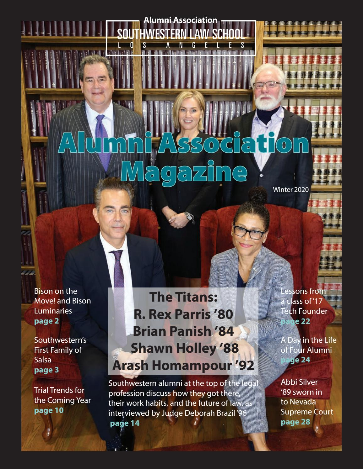 Alumni association magazine