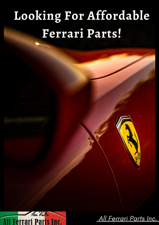 Affordable All Ferrari Spare Parts By Allferrariparts09 Issuu