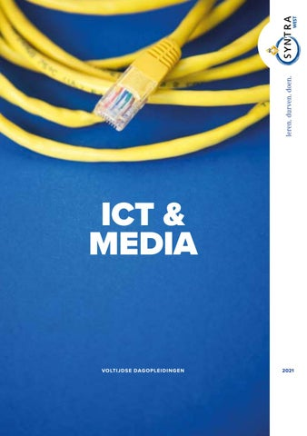 Syntra West sectorbrochure ICT en media VJ 2021