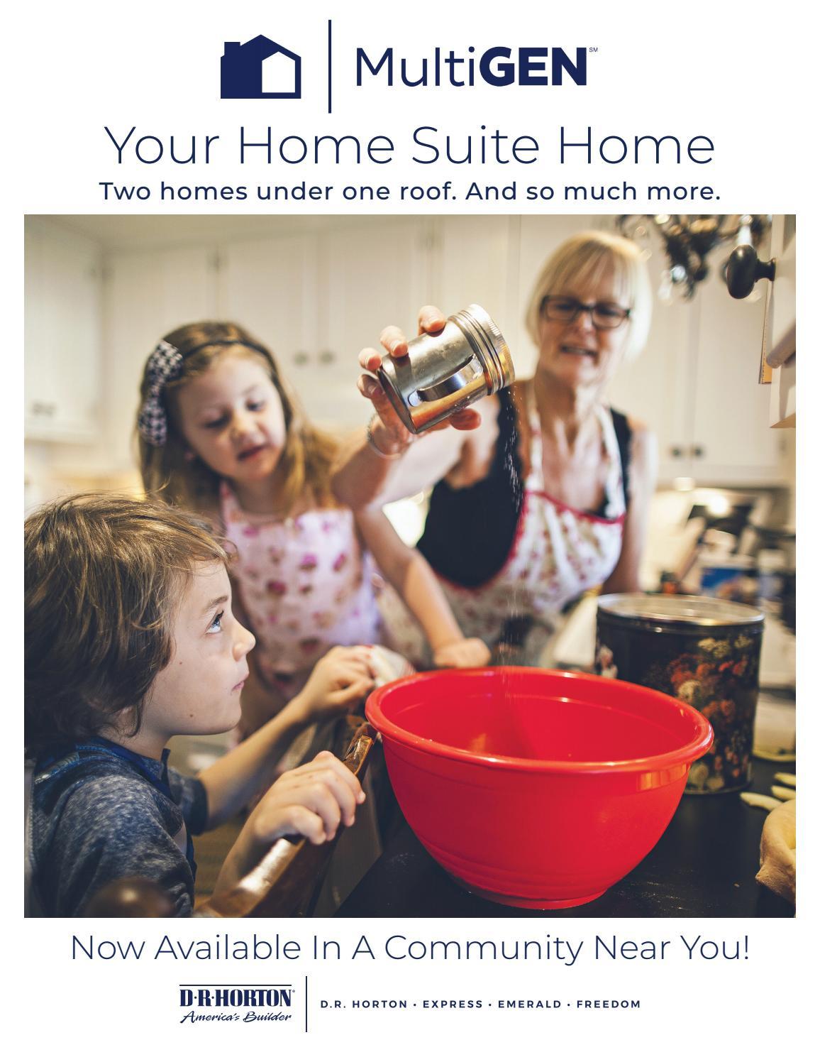 D R Horton Multigen Your Home Suite Home By D R Horton Central Florida Issuu