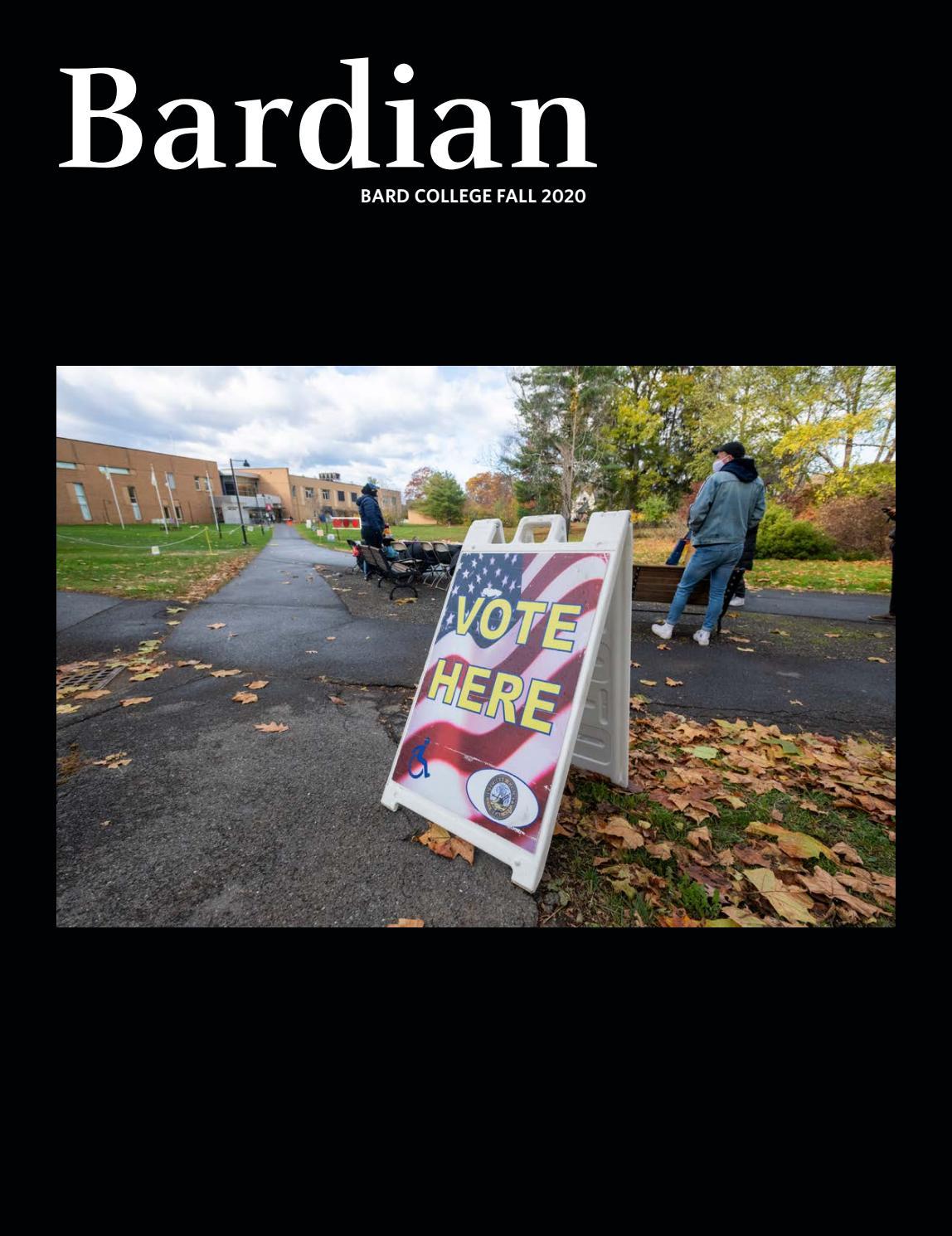 Winter 2020 Bardian By Bard College Bardian Issuu