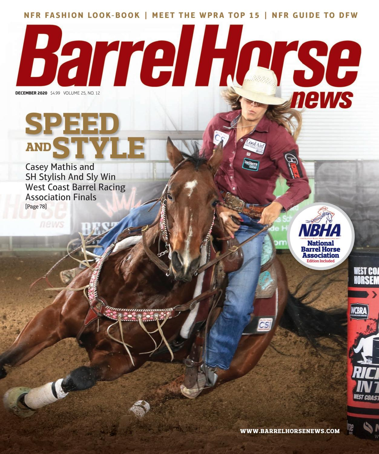 Barrel Horse News December 2020 Issue By Cowboy Publishing Group Issuu