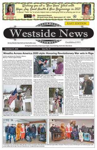 Hope For Christmas December 8, 2021 Holly Springs Baptist Volunteers, December 8 Westside News East Edition December 27 2020 By Westside News Inc Issuu