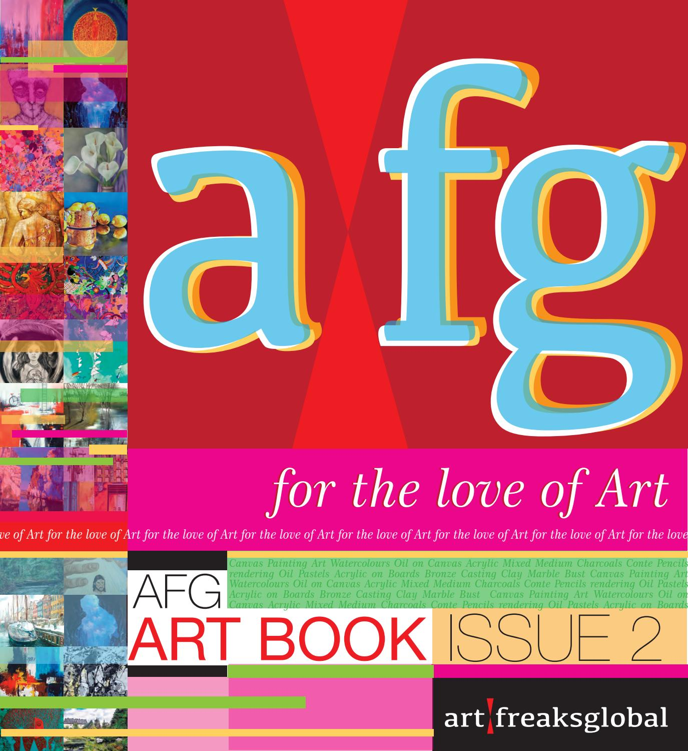 Afg Art Book Issue By Art Freaks Global Issuu