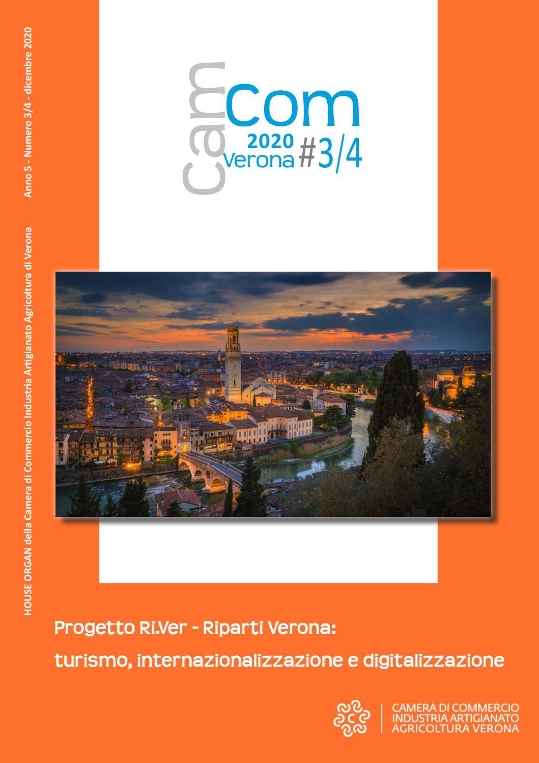 Camcomverona2020 L House Organ Della Camera Di Commercio Di Verona News Per Le Imprese By Camera Di Commercio Di Verona Issuu