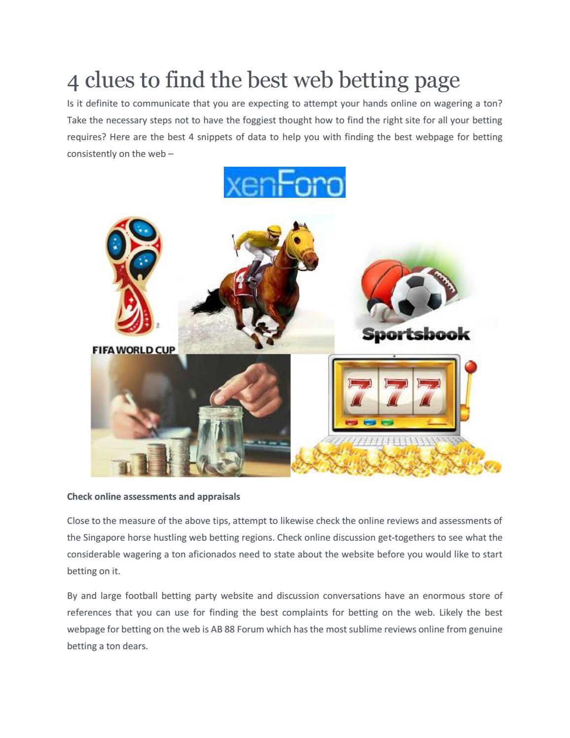 Football betting forum singapore py bcrypt binary options