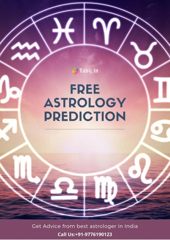 Get free astrology predictions