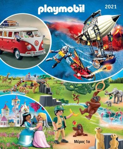 Playmobil. Κατάλογος 2021, παιδικά παιχνίδια και ήρωες Πλέιμομπιλ