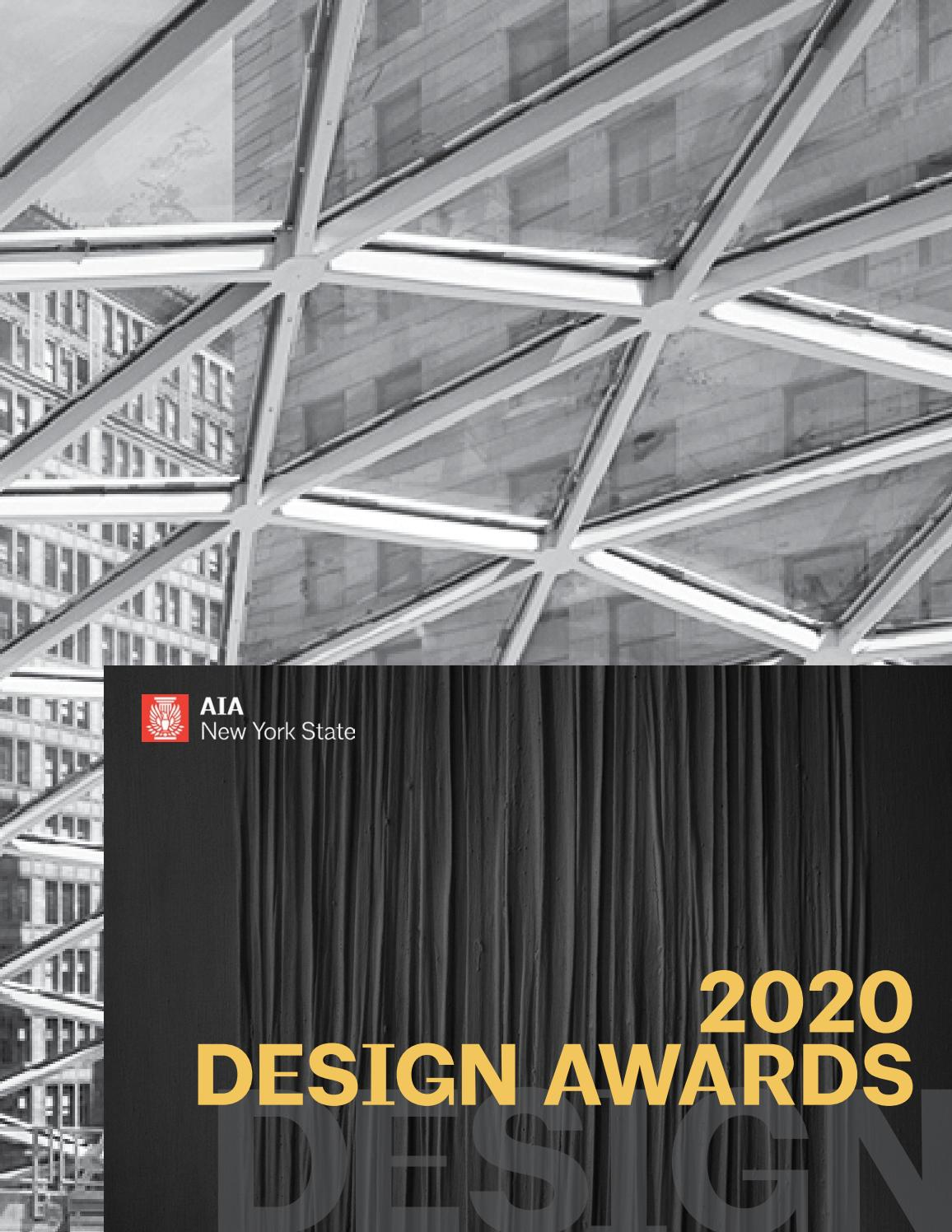 AIA New York State 2020 Design Awards by American Institute of Architects  New York State - issuu