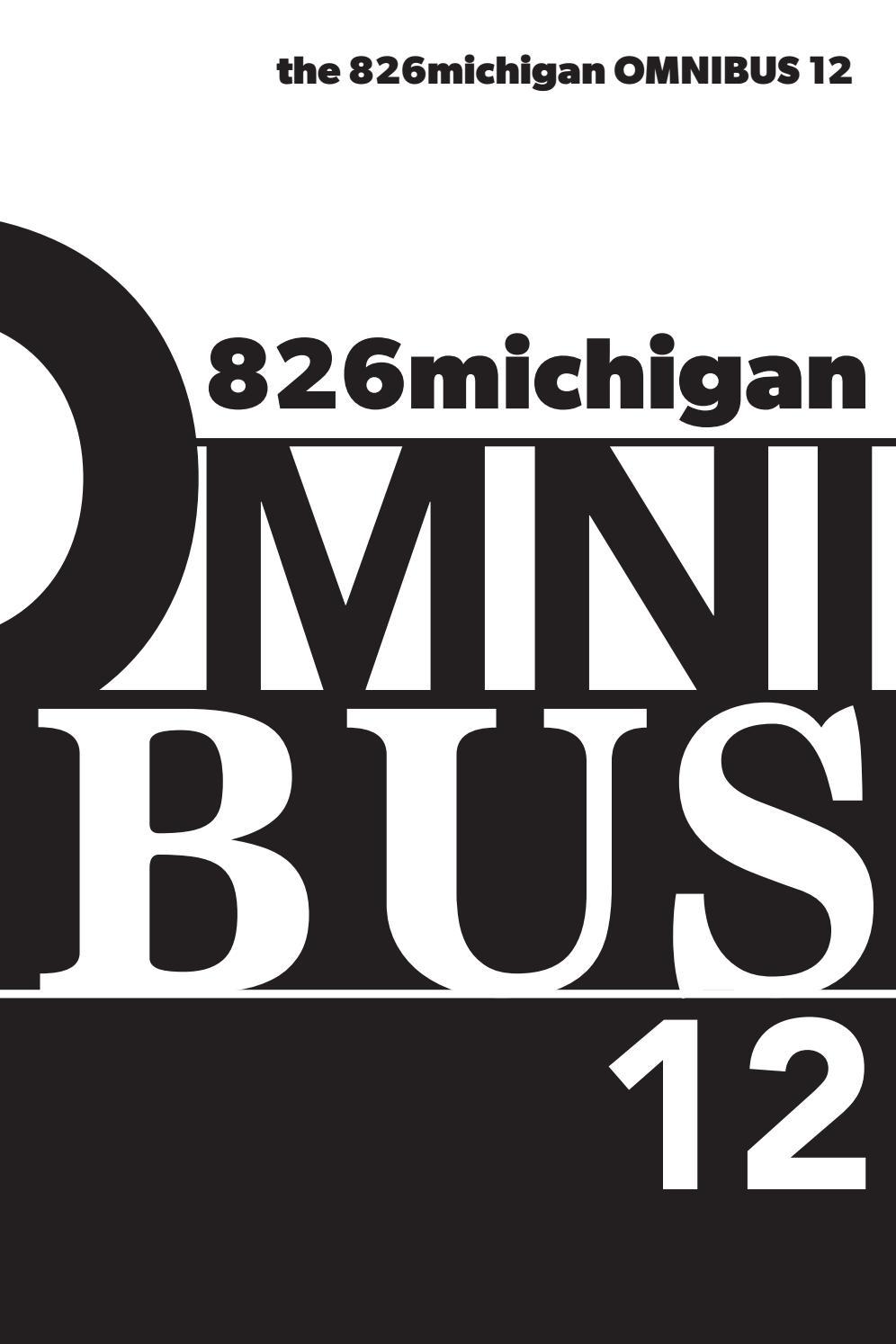 826michigan Omnibus 12 2020 By 826michigan Issuu
