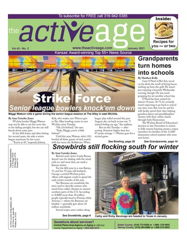 Five Places Of Christmas Newton Kansas 2021 January 2021 By The Active Age Issuu