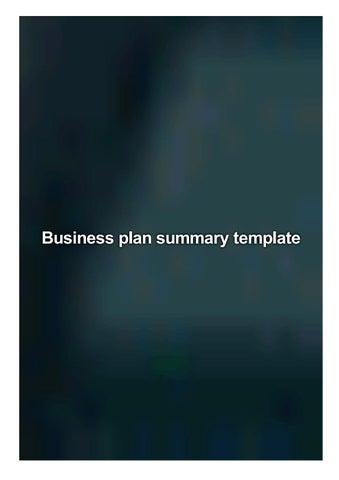 orr business plan