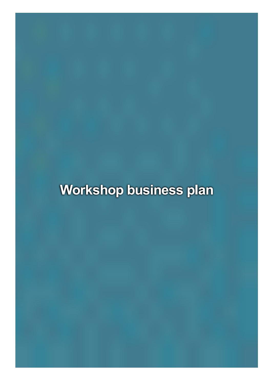visual business plan workshop