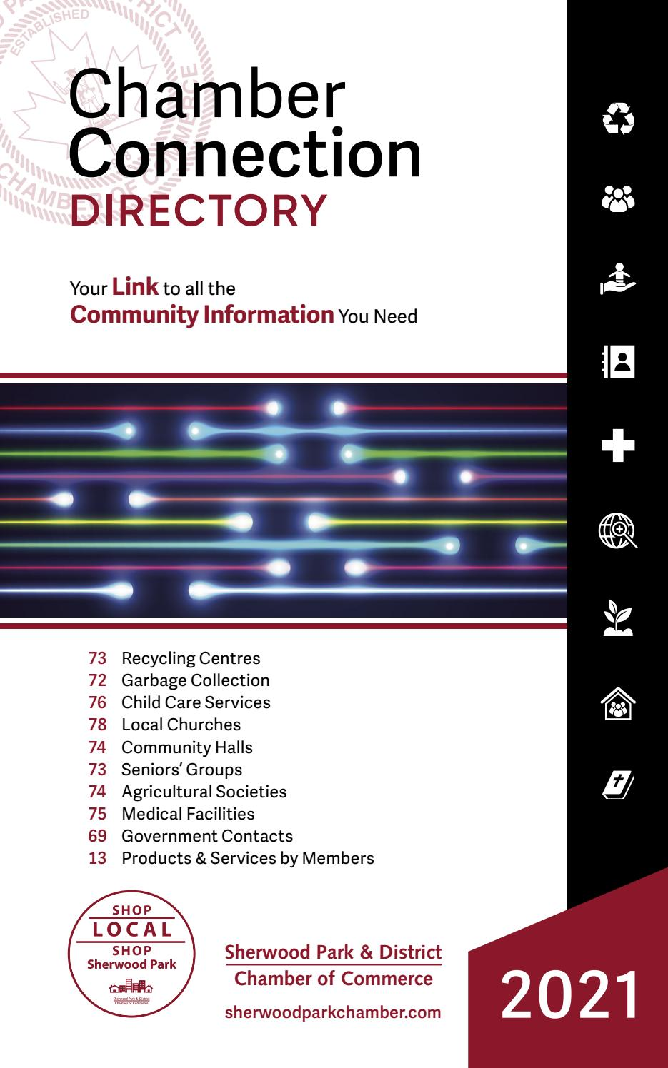 2021 Chamber Connection Directory By Sherwood Park District Chamber Of Commerce Issuu