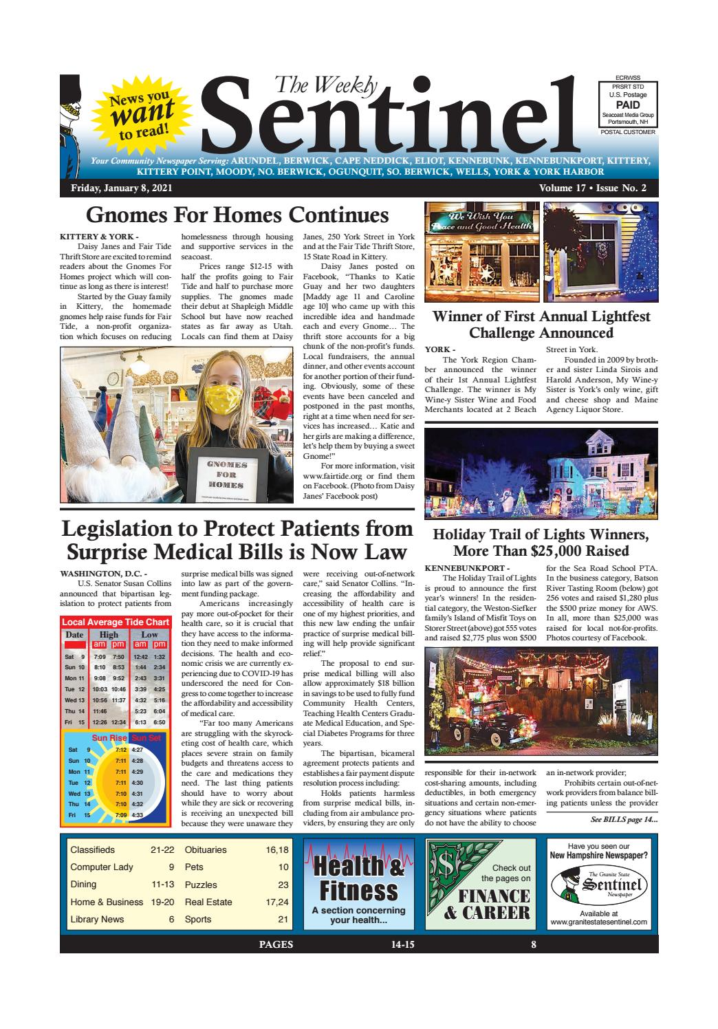 Clarksburg Trash Pickup On Christmas Eve 2021 Ws Jan 8 2021 By Weekly Sentinel Issuu