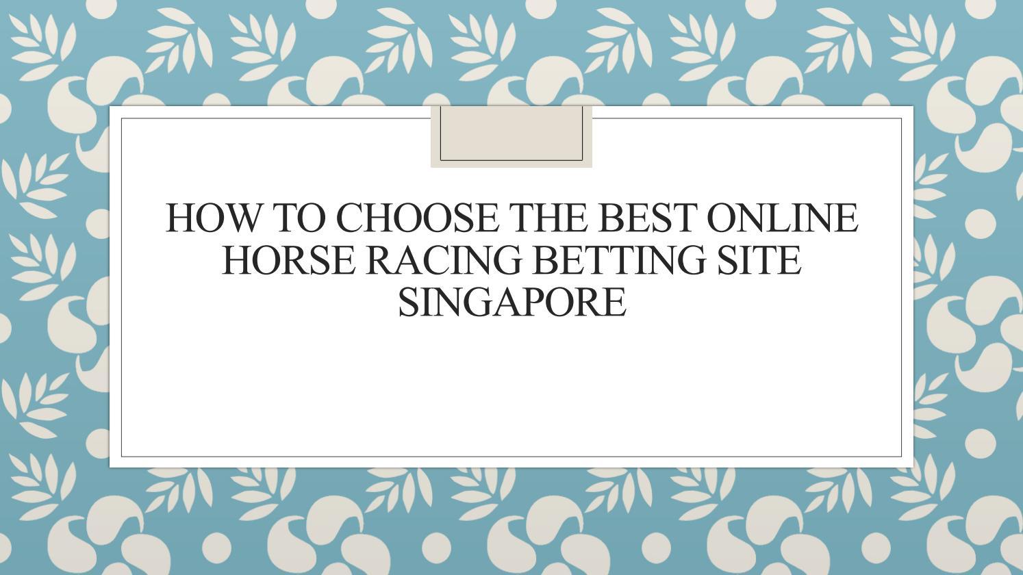 online horse racing betting sites