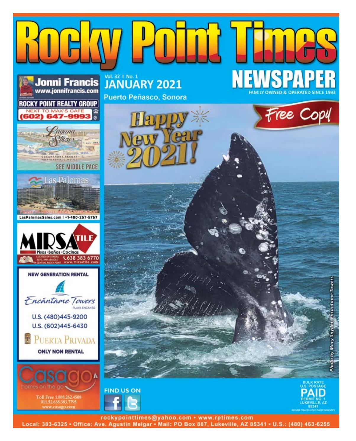 Christmas Puerto Penasco 2021 Rocky Point Times January 2021 By Rocky Point Services Issuu
