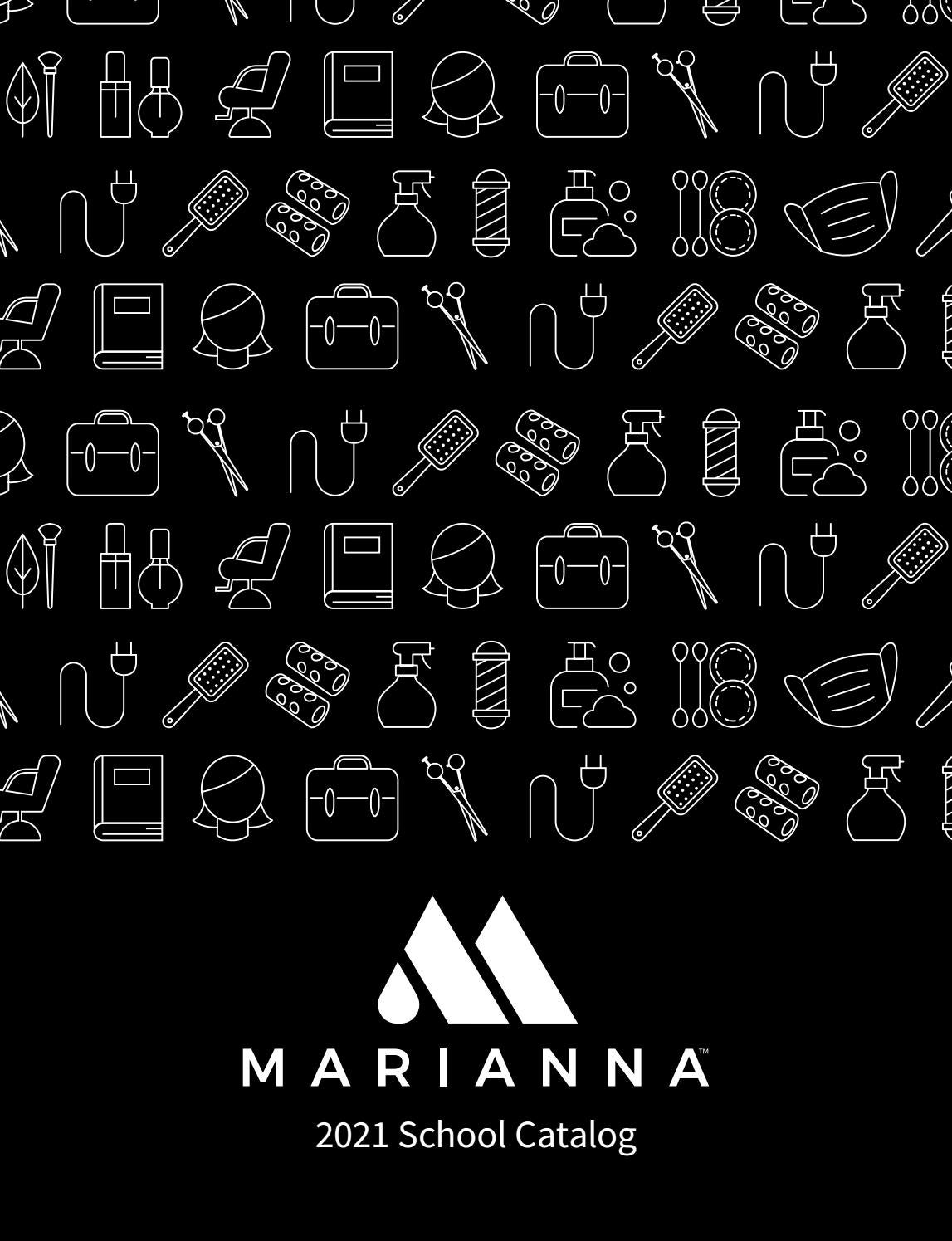2021 Marianna School Catalog By Mariannabeauty Issuu