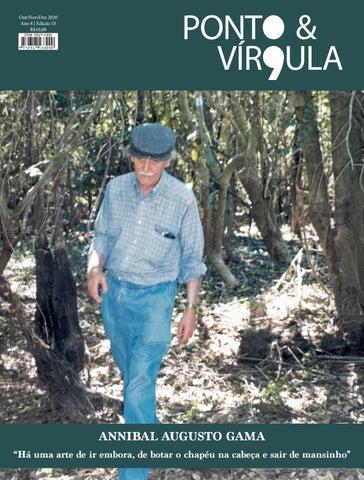 """Cover of """"Revista Ponto & Virgula - 2020 Edição 53 Out Nov Dez"""""""