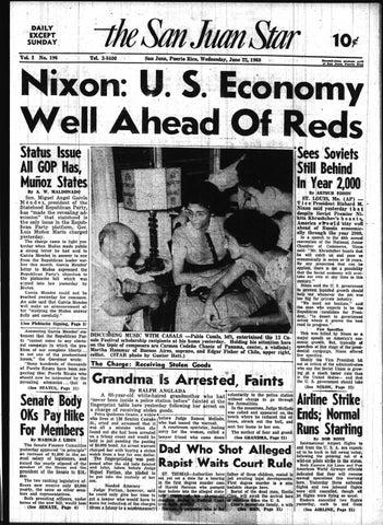 The San Juan Star July 22 1960 By La Colección Puertorriqueña Issuu