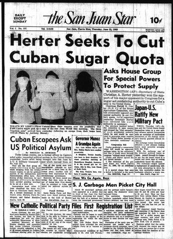 The San Juan Star July 23 1960 By La Colección Puertorriqueña Issuu