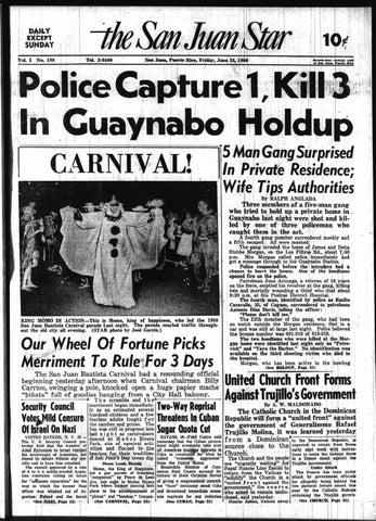 The San Juan Star July 24 1960 By La Colección Puertorriqueña Issuu