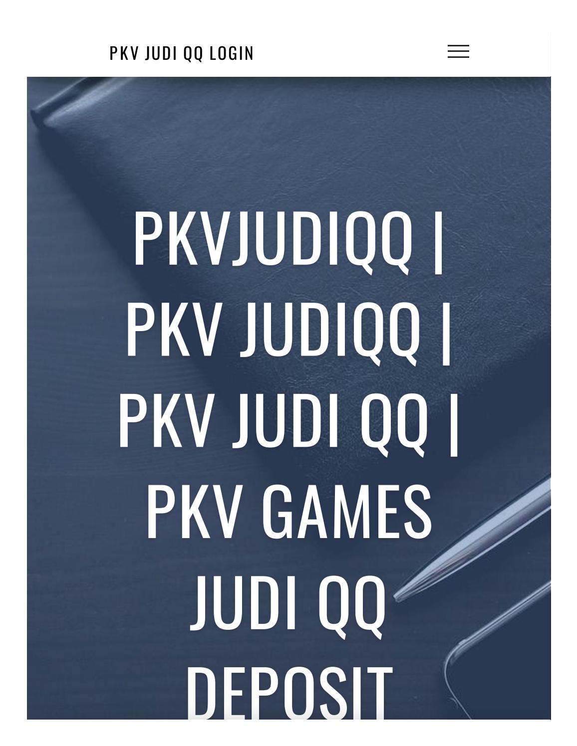 Pkvjudiqq Pkv Judiqq Pkv Judi Qq Pkv Games Judi Qq Deposit Pulsa Http 185 149 112 229 By Pkv Games Qq Winnipoker Net Issuu