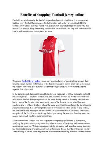 jersey online shopping