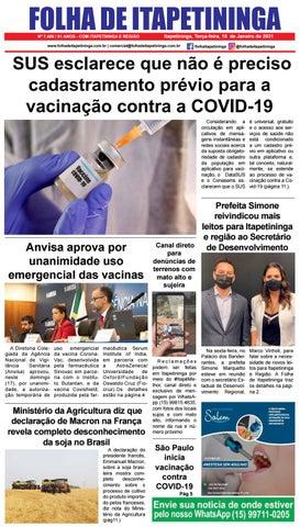 Folha de Itapetininga 19/01/2021 (Terca-feira)