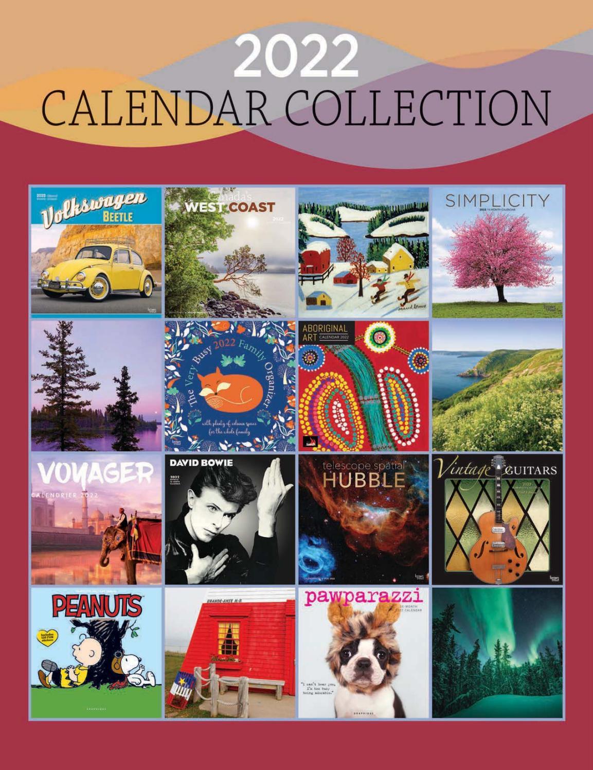 Calendrier 2022 Paris 1 2022 Calendar Collection   BrownTrout Publishers Ltd. by Michael