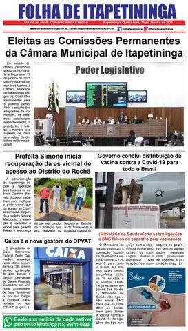 Folha de Itapetininga 21/01/2021 (Quinta-feira)