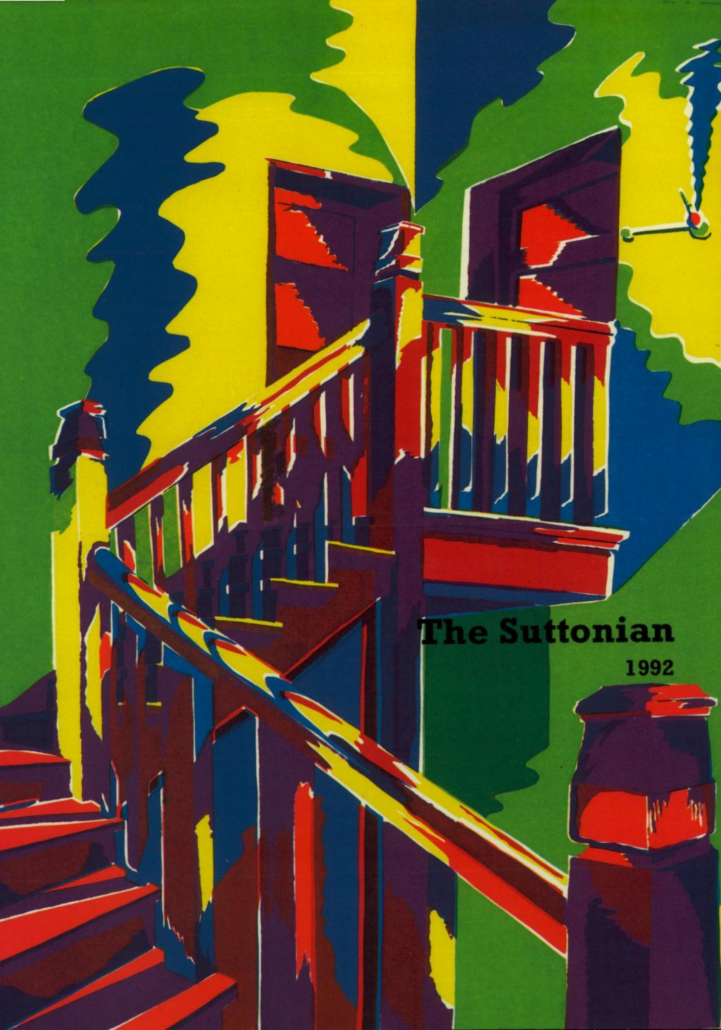 The Suttonian 1992 By Sutton Valence School Issuu