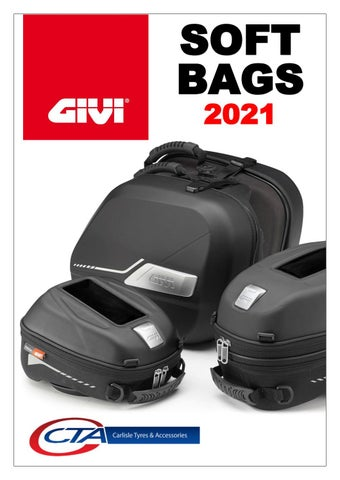 """Cover of """"GIVI SOFT BAGS CTA 2021"""""""