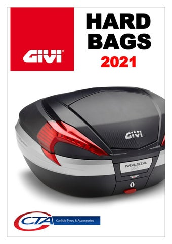 "Cover of ""GIVI HARD BAGS CTA 2021"""