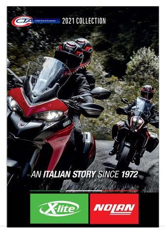 "Cover of ""NOLAN/X-LITE MOTORCYCLE HELMETS CTA 2021"""