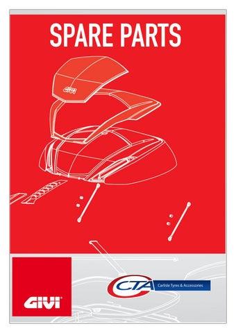 """Cover of """"GIVI SPARE PARTS CTA 2021"""""""